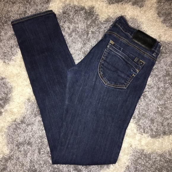 Denim - David Bitton Star Stretch Cigarette Jeans